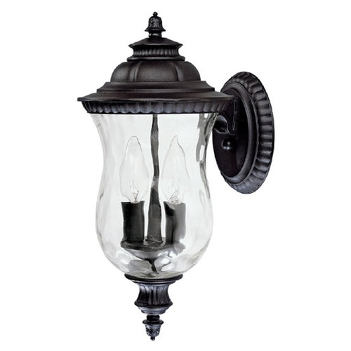 Capital Lighting Capital Lighting Ashford Black Outdoor Wall Light 9781BK