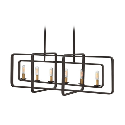 Hinkley Lighting Hinkley Lighting Quentin Buckeye Bronze Island Light 4815KZ