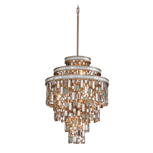 Corbett Lighting Corbett Lighting Dolcetti Silver Pendant Light 142-47