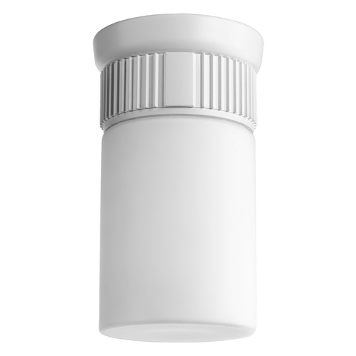 Quorum Lighting Quorum Lighting Manhattan Studio White Close To Ceiling Light 356-8