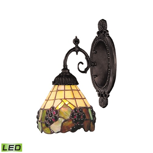 Elk Lighting Elk Lighting Mix-N-Match Tiffany Bronze LED Sconce 071-TB-07-LED