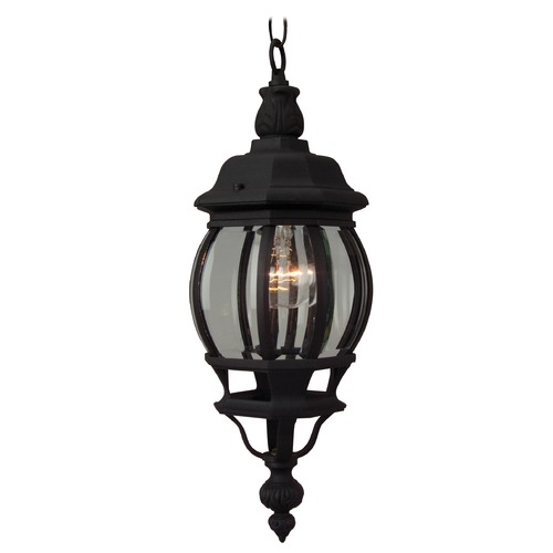 Craftmade Lighting Craftmade Lighting French Style Matte Black Outdoor Hanging Light Z321-05