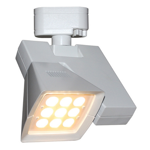 WAC Lighting Wac Lighting White LED Track Light Head J-LED23F-27-WT