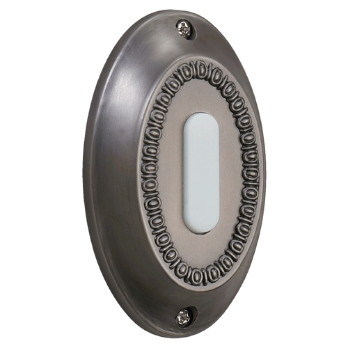 Quorum Lighting Quorum Lighting Antique Silver Doorbell Button 7-307-92