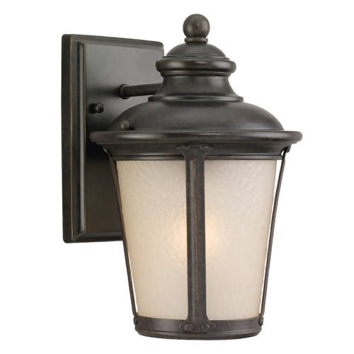 Sea Gull Lighting Sea Gull Lighting Cape May Burled Iron LED Outdoor Wall Light 8824091S-780