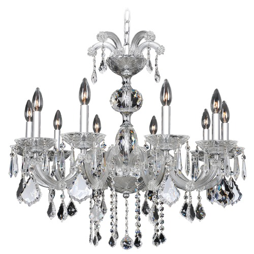 Allegri Lighting Giordano 10 Light Crystal Chandelier 10237-010-FR001