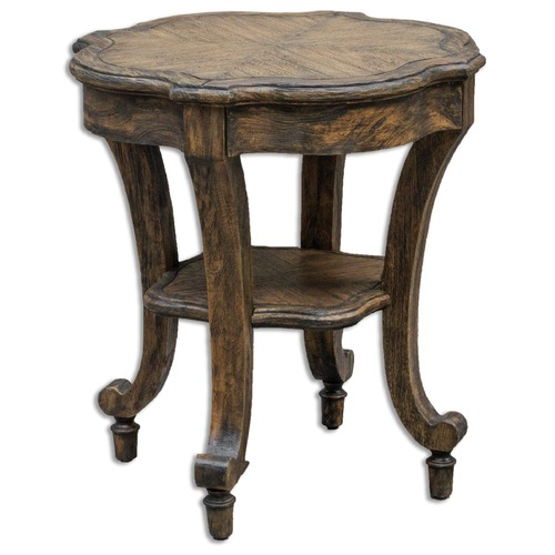 Uttermost Lighting Uttermost Matahari Aged Accent Table 25662