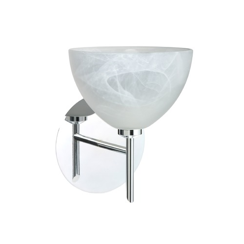 Besa Lighting Besa Lighting Brella Chrome LED Sconce 1SW-467952-LED-CR