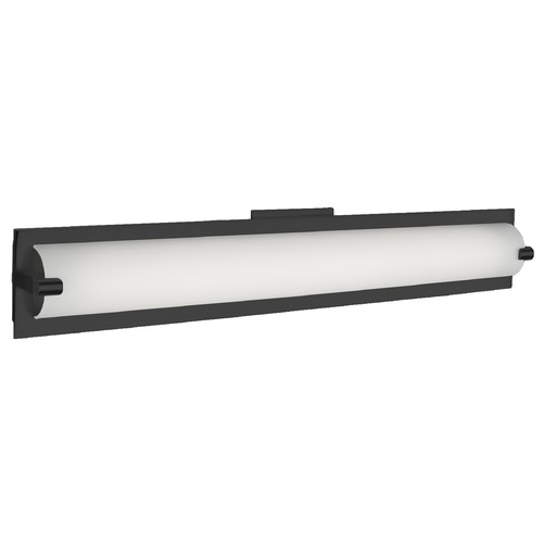 Kuzco Lighting Kuzco Lighting Lighthouse Black LED Vertical Bathroom Light 601001BK-LED
