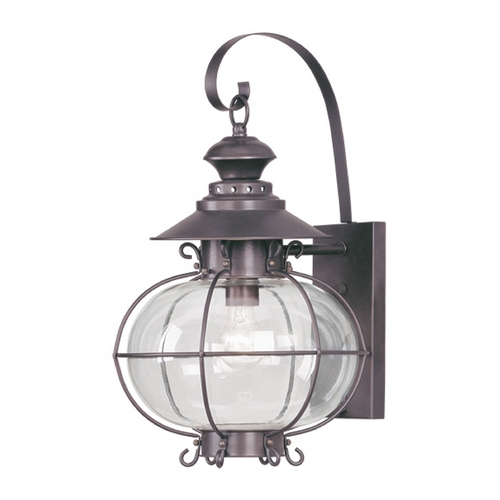 Livex Lighting Livex Lighting Harbor Bronze Outdoor Wall Light 2223-07