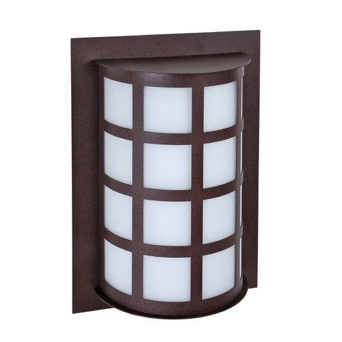 Besa Lighting Besa Lighting Scala Bronze Outdoor Wall Light SCALA13-WA-BR