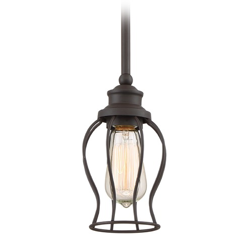 Quoizel Lighting Quoizel Lighting Baroness Western Bronze Mini-Pendant Light BNS1505WT