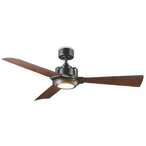 Modern Forms by WAC Lighting Modern Forms Oil Rubbed Bronze 56-Inch LED Smart Ceiling Fan 2700K 1110LM FR-W1817-56L27OBDW