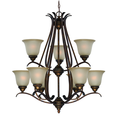 Craftmade Lighting Craftmade Mckinney Burleson Bronze Chandelier 29029-BBZ