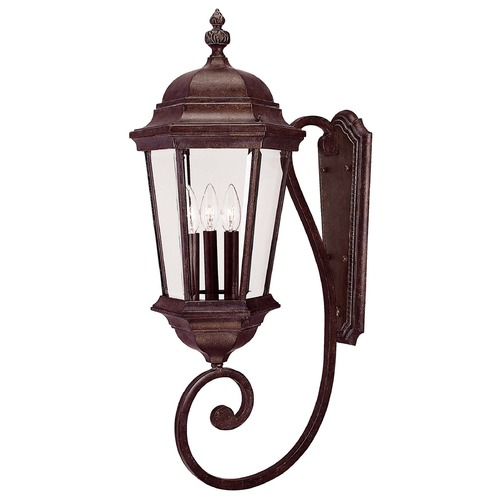 Savoy House Savoy House Walnut Patina Outdoor Wall Light 5-1300-40