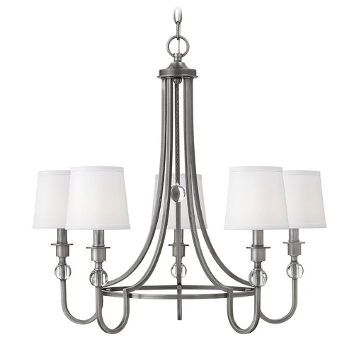 Hinkley Hinkley Morgan Antique Nickel Chandelier 4875AN