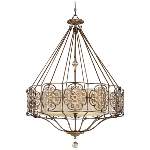 Feiss Lighting Pendant in British Bronze / Oxidized Bronze Finish F2603/4BRB/OBZ