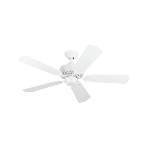 Sea Gull Lighting Ceiling Fan Without Light in White Finish 1525-15
