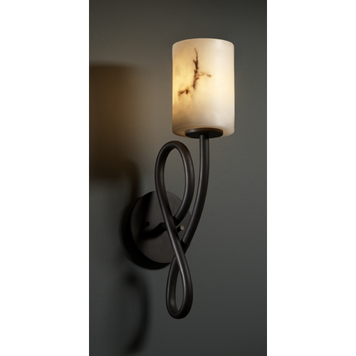 Justice Design Group Justice Design Group Lumenaria Collection Sconce FAL-8911-10-DBRZ