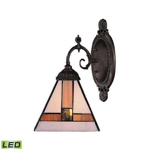 Elk Lighting Elk Lighting Mix-N-Match Tiffany Bronze LED Sconce 071-TB-01-LED