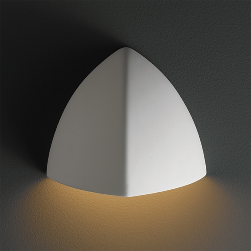 Justice Design Group Outdoor Wall Light in Bisque Finish CER-1800W-BIS