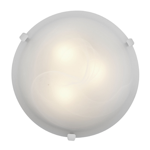 Access Lighting Access Lighting Mona White Flushmount Light C23020WHALBEN1226BS