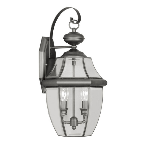 Livex Lighting Livex Lighting Monterey Black Outdoor Wall Light 2251-04
