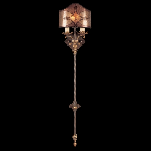 Fine Art Lamps Fine Art Lamps Villa 1919 Umber with Gilded Accents Sconce 155950ST
