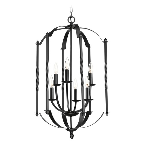 Progress Lighting Progress Lighting Greyson Black Pendant Light P3577-31