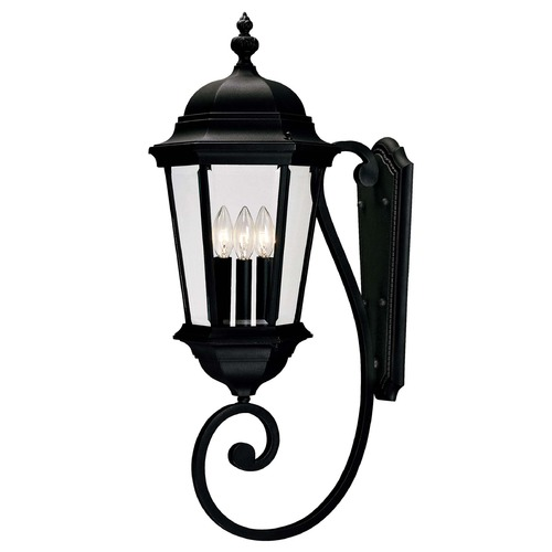 Savoy House Savoy House Textured Black Outdoor Wall Light 5-1300-BK