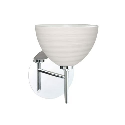 Besa Lighting Besa Lighting Brella Chrome LED Sconce 1SW-4679KR-LED-CR