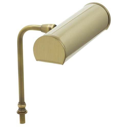 House of Troy Lighting House Of Troy Advent Antique Brass LED Piano / Banker Lamp LABLED7-71