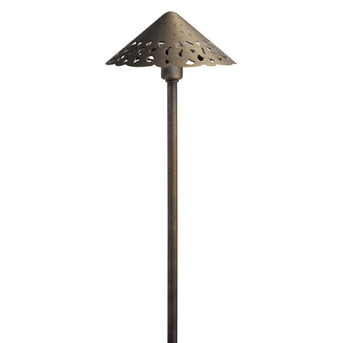 Kichler Lighting Kichler Lighting Centennial Brass Low Voltage LED Path Light 3000K 15871CBR30