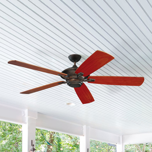 Monte Carlo Fans Ceiling Fan Without Light in Roman Bronze Finish 5CY60RB