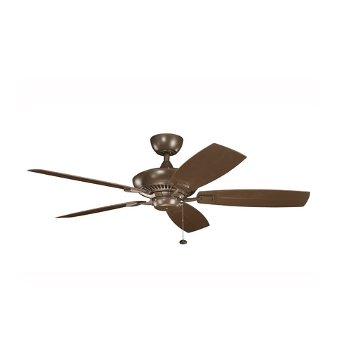 Kichler Lighting Kichler Ceiling Fan Without Light in Coffee Mocha Finish 320500CMO