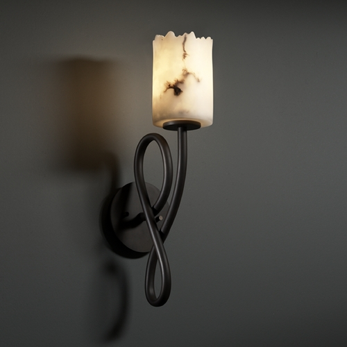 Justice Design Group Justice Design Group Lumenaria Collection Sconce FAL-8911-12-DBRZ