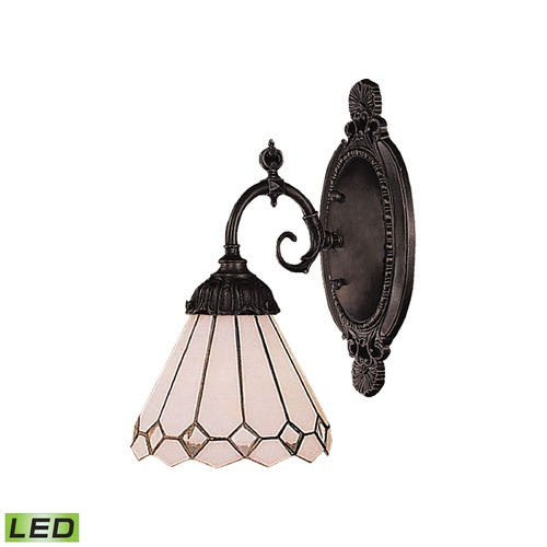 Elk Lighting Elk Lighting Mix-N-Match Tiffany Bronze LED Sconce 071-TB-04-LED