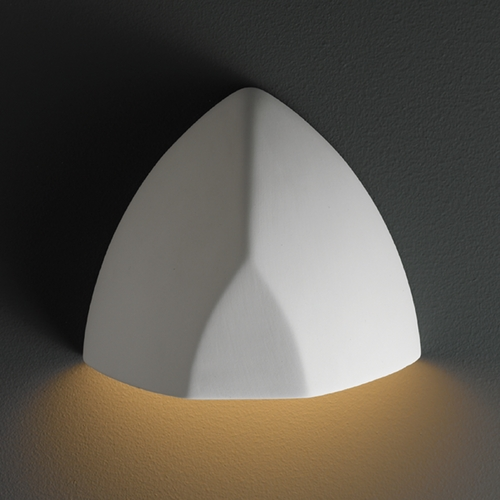 Justice Design Group Outdoor Wall Light in Bisque Finish CER-5800W-BIS