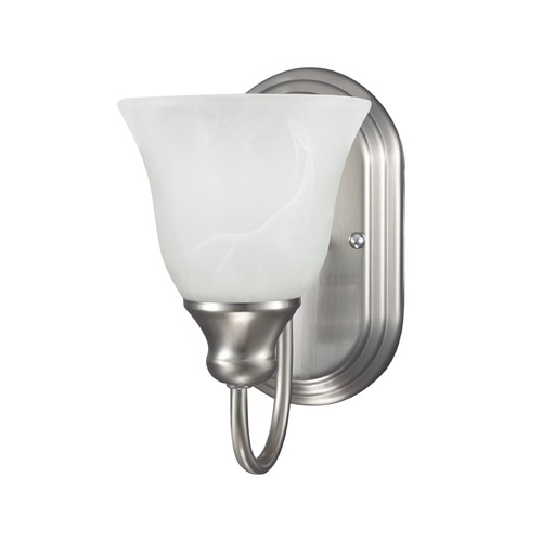 Sea Gull Lighting Sea Gull Lighting Windgate Brushed Nickel Sconce 41939BLE-962