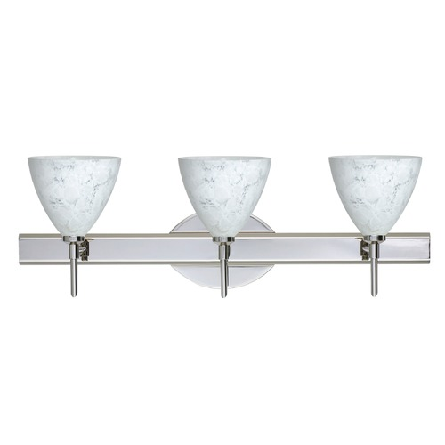 Besa Lighting Besa Lighting Mia Chrome Bathroom Light 3SW-177919-CR