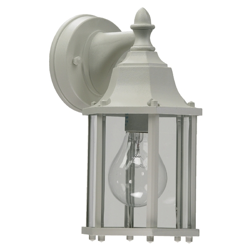 Quorum Lighting Quorum Lighting White Outdoor Wall Light 786-6
