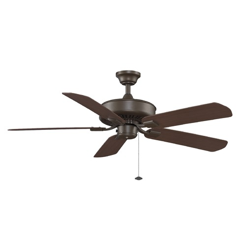 Fanimation Fans Fanimation Fans Edgewood Oil-Rubbed Bronze Ceiling Fan Without Light TF910OB