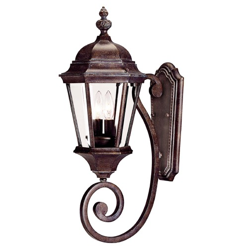 Savoy House Savoy House Walnut Patina Outdoor Wall Light 5-1301-40
