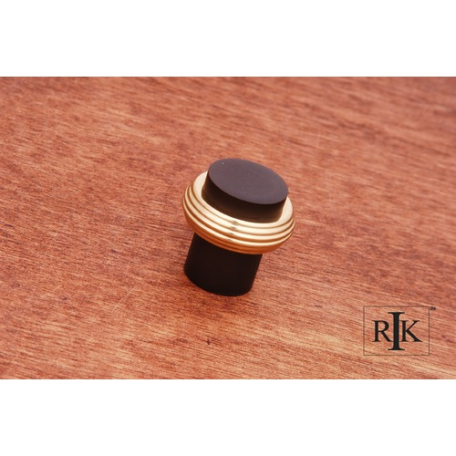 RK International Solid Swirl Rod Knob CK4214BRB