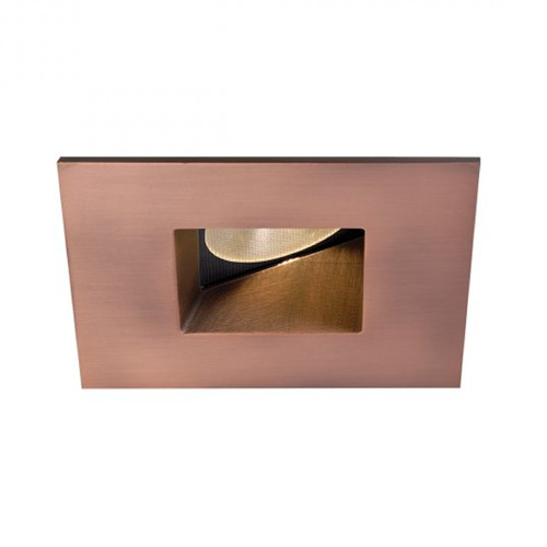 WAC Lighting WAC Lighting Square Copper Bronze 2-Inch LED Recessed Trim 3500K 860LM 45 Degree HR2LEDT509PF835CB