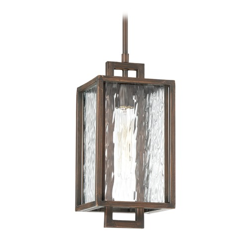 Craftmade Lighting Craftmade Lighting Cubic Aged Bronze Brushed Outdoor Hanging Light Z9801-12