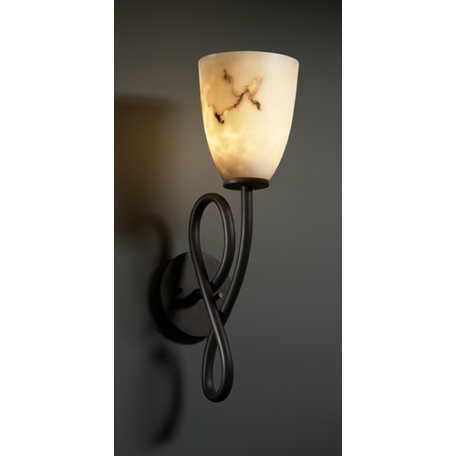 Justice Design Group Justice Design Group Lumenaria Collection Sconce FAL-8911-18-DBRZ