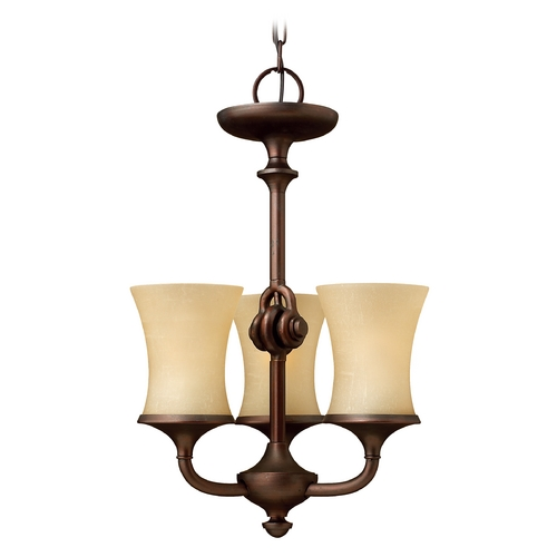Hinkley Lighting Three-Light Chandelier 4173VZ
