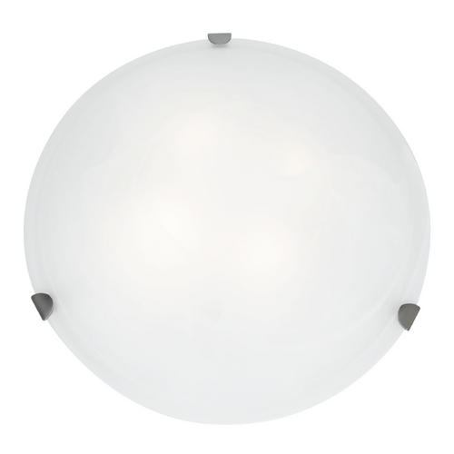 Access Lighting Access Lighting Mona Brushed Steel Flushmount Light C23021BSWHEN1226BS