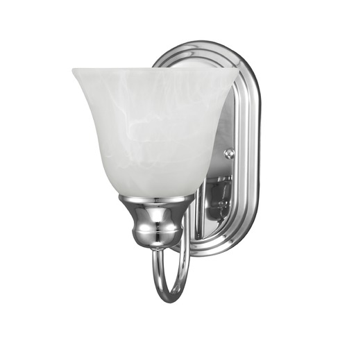 Sea Gull Lighting Sea Gull Lighting Windgate Chrome Sconce 41939BLE-05
